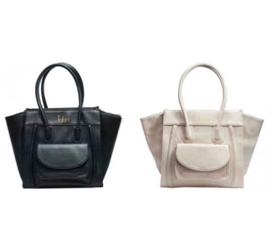 High Quality Faux Leather Kaläni London Hand Bags/Totes 100pcs 2 colours