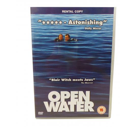 Wholesale Joblot of 100 Open Water DVDs Ex Rental Copies