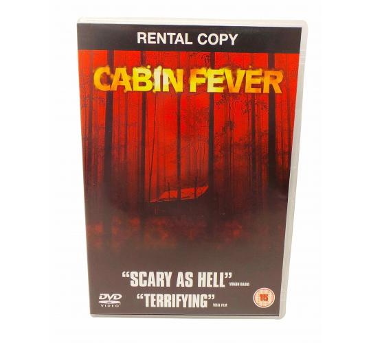 Wholesale Joblot of 100 Cabin Fever DVDs Ex Rental Copy