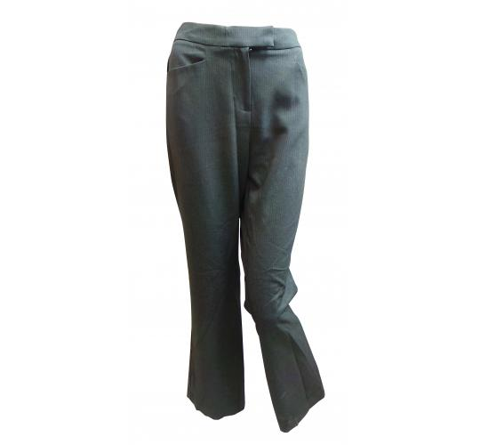 Wholesale Joblot of 10 Ladies De-Branded Grey Smart Trousers Sizes 8-22