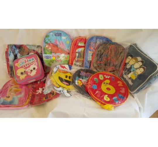 Childrens Ruck Sacks Holdall Messenger Bags