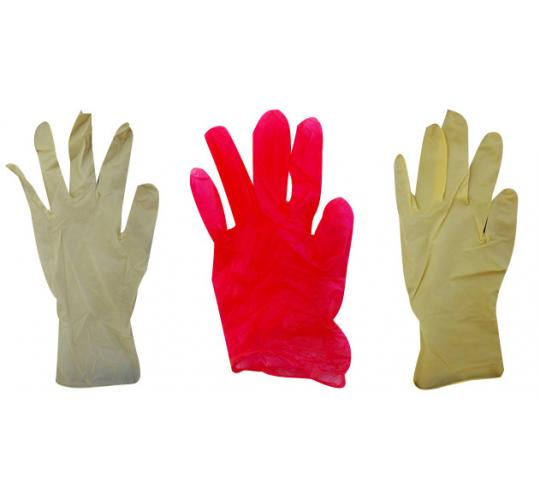 One Off Joblot of 27 Packs of 100 Latex & Vinyl Disposable Protective Gloves