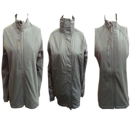 One Off Joblot of 6 Ladies Softshell Jackets Gilets & Waterproof Sizes S-XL