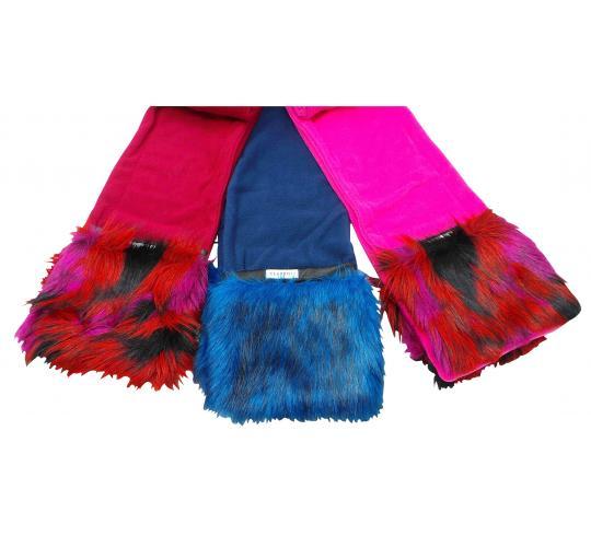 Wholesale Joblot of 10 Ladies Cloppies Flash Scarves 6 Colours SCA05