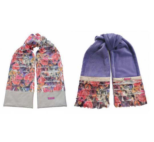 Wholesale Joblot of 10 Ladies Cloppies Floral Scarves 2 Styles SCA0905