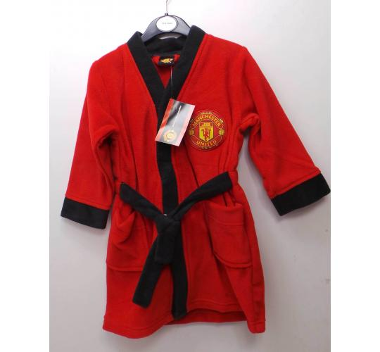Wholesale Joblot of 25 Official Manchester United Childrens Dressing Gowns