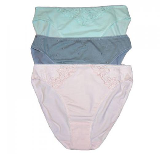 480 M&5 Guipure Lace Hi-Leg Brief