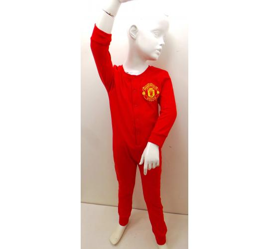 Wholesale Joblot of 25 Official Manchester United Childrens Red Onesies