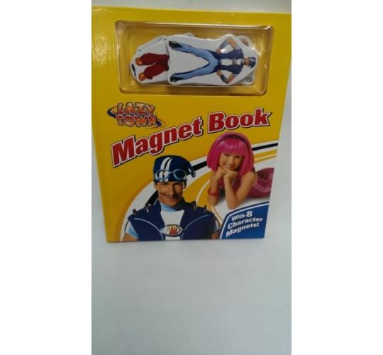 Lazy Town Magnetic Book