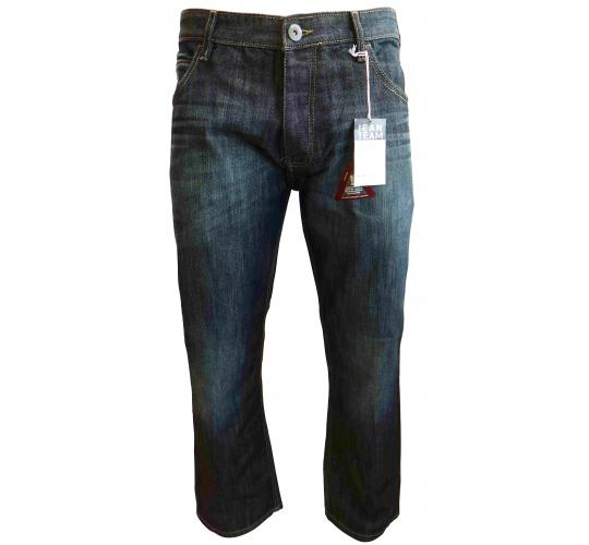 Wholesale Joblot of 10 Mens Jean Team Dark Denim Wash Loose Fit Jeans