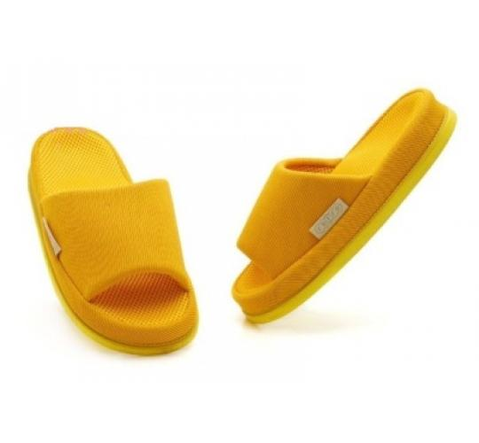 Japanese Massage Acupressure Female Slippers Refre Yellow COLOR