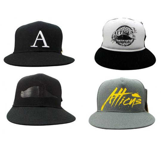 Wholesale Joblot of 20 Atticus Snapback/Baseball Hats Assorted Styles