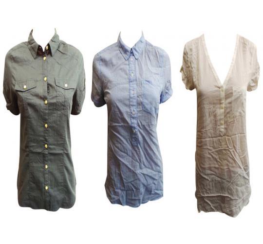 Wholesale Joblot of 50 Ladies De-Branded Tops/Blouses Assorted Styles