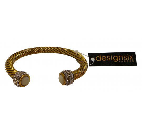 Wholesale Joblot of 20 Designsix Stylish Gold Compton Bracelets 11288