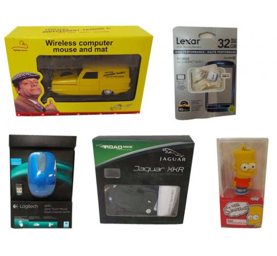 One Off Joblot of 14 Items For Computers/Electricals Mouses USBs Camera Kit Etc