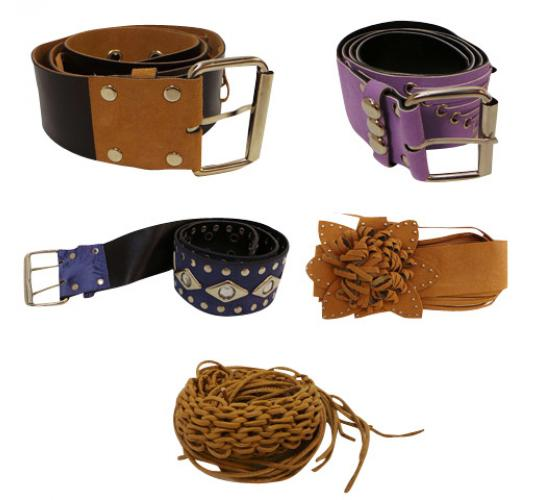 Wholesale Joblot of 50 Ladies Assorted Belts Mix of Colours and Styles