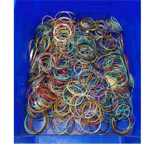 One Off Joblot of Approximately 1.7kg of Bracelets Huge Range of Styles