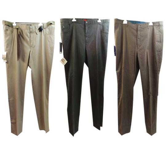 One Off Joblot of 10 Mens Trousers Assorted Styles Plus Size