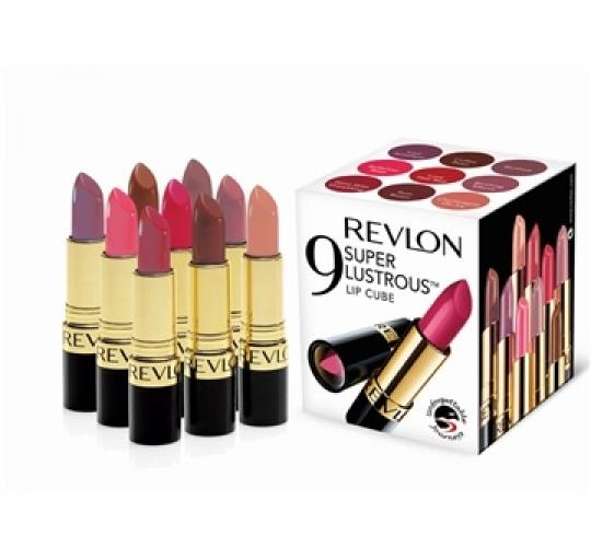 Clearance parcel of 10 Revlon Super Lustrous 9 Pack Lipstick Cubes