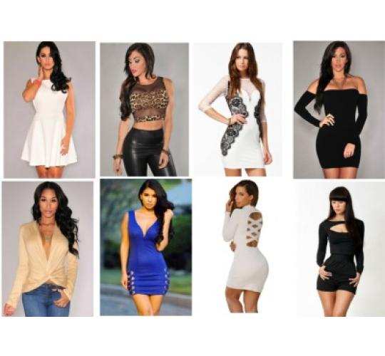 WHOLESALE JOBLOT FOR RESALE ON MIXED FASHION WOMEN'S CLOTHING BRAND NEW x 30
