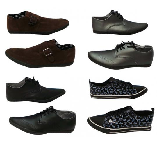One Off Joblot of 18 Modification London Mens Shoes 6 Styles Sizes 8-11