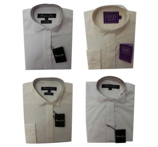 Wholesale Joblot of 10 Richard Jones Childrens Smart Shirts Sizes 10.5-14