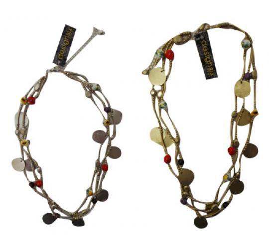 Wholesale Joblot of 30 Designsix Faith Necklaces Silver & Gold 9794