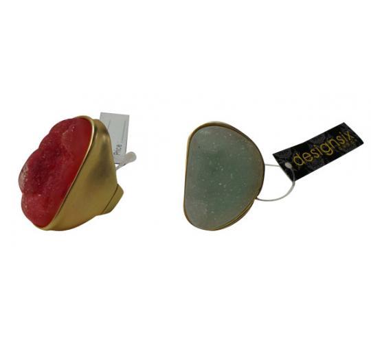 Wholesale Joblot of 30 Designsix Lea Rings Mix Of Colours 11077