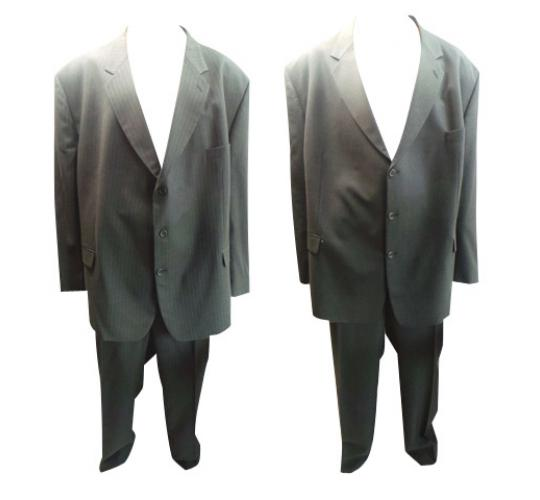 One Off Joblot of 7 Mens Varteks International Plus Size Grey Suits 2 Styles