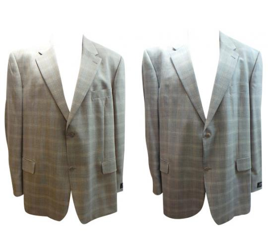 One Off Joblot of 4 Mens Digel Suit Check Pattern Blazer Jackets 2 Colours