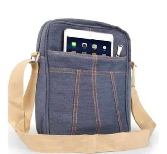 Joblot 25 x  Denim Caseflex Messenger Bag