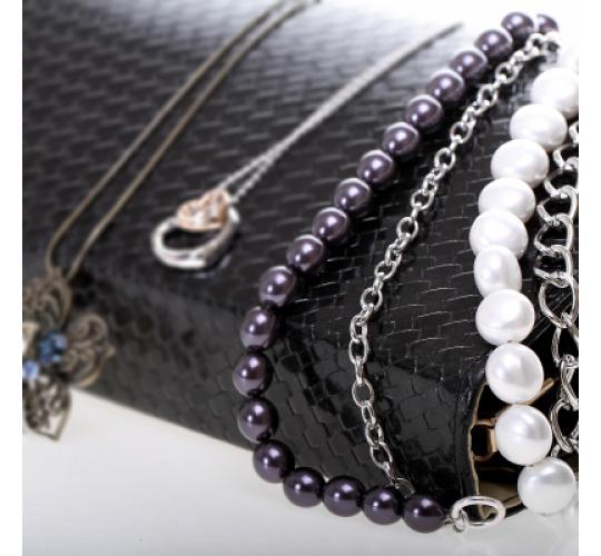 VIS Moment, 35x Fiji - Cream Seashell Chain Necklace Bracelet, RRP: £1167