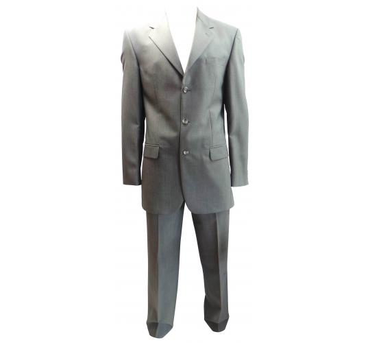 One Off Joblot of 5 Mens Premium Varteks International Grey Suits Plus Size
