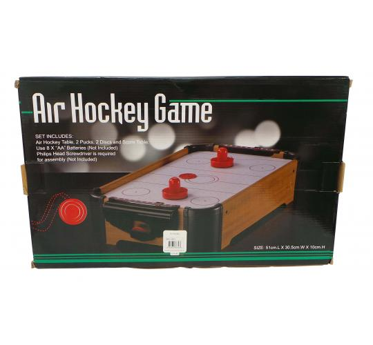One Off Joblot of 29 Air Hockey Table Games With Pucks Discs & Score Table