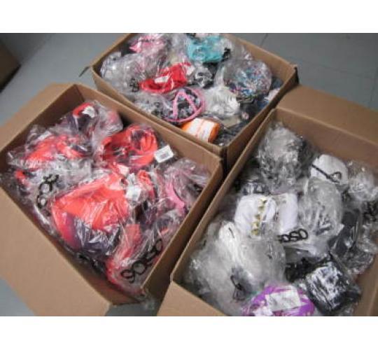 Wholesale Joblot of 100 Branded Bikini Tops Swimwear