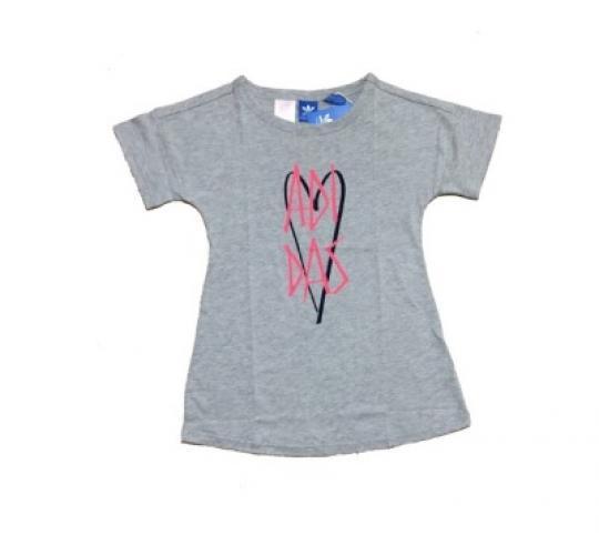 Adidas Girls T-Shirt Dress 12x