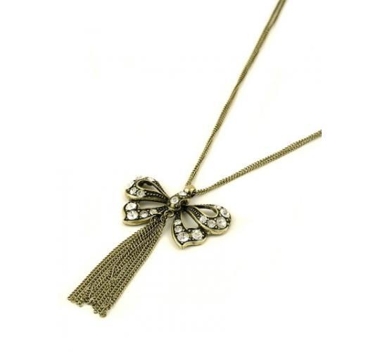 Boho Butterfly Necklace x 9