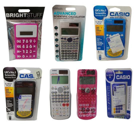 One Off Joblot of 58 Customer Returns Calculators Various Models Includes Casio