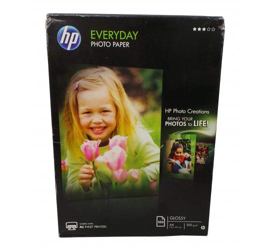 One Off Joblot of 66 Packs of 100 HP Everyday Glossy Photo Paper A4