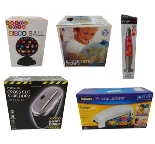 Joblot of 35 Mixed Items Laminators Lava Lamps Disco Ball Illuminated Globes Etc