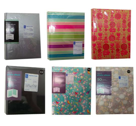 One Off Joblot of 85 Customer Returns Photo Albums Assorted Styles