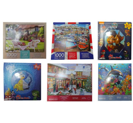 One Off Joblot of 114 Assorted Jigsaw Puzzles Adults & Childrens