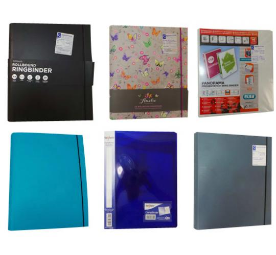 One Off Joblot of 58 Assorted Ring Binders Various Colours and Designs