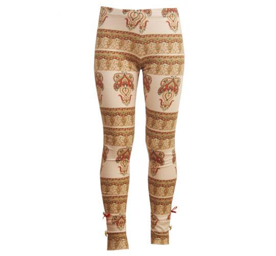Joblot of 100 girls designer leggings in custom digital print across sizes 2,4,6,8,10,12.