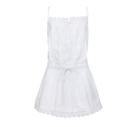 Joblot of 100 girls designer embroidered singlet dress in white 100% Indian cotton in sizes 2,4,6,8,10 and 12.