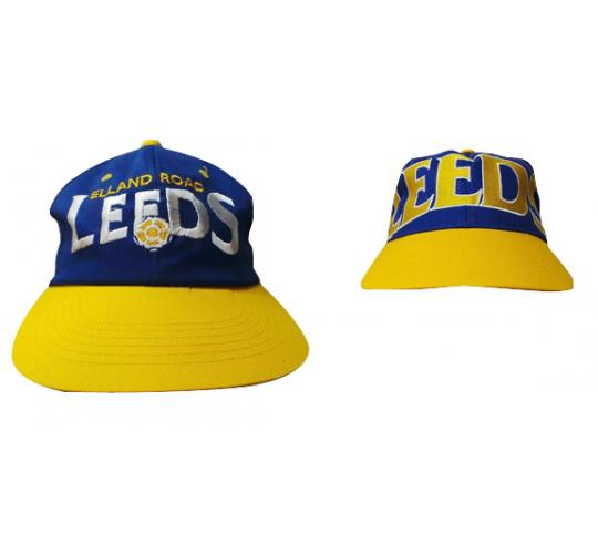 Wholesale Joblot of 50 Leeds Football Snapback Caps 2 Styles