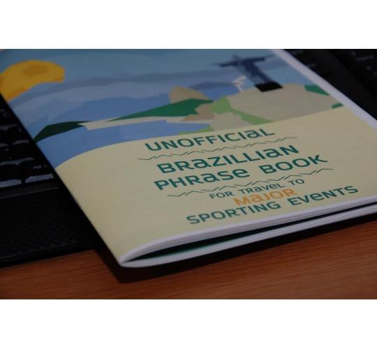 Tragically Inaccurate Brazilian Phrase Book for Major Sporting Events
