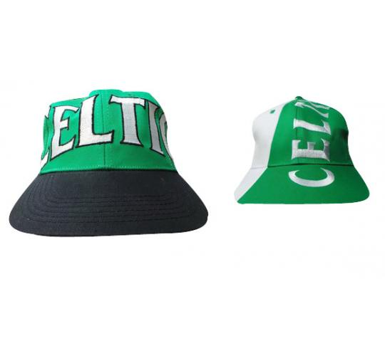 Wholesale Joblot of 50 Celtic Football Snapback Caps 2 Styles