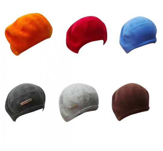 Wholesale Joblot of 100 Assorted Kangol Unisex Beret Hats Mix of Colours