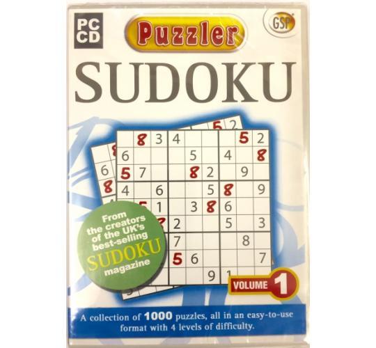 Wholesale Joblot of 100 Sudoku Puzzler PC-CD